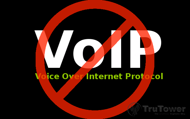 In-Flight VoIP, Voice Over IP restricted, Voice Over Internet Protocol Banned