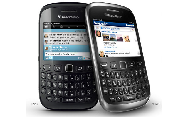 BlackBerry Curve 9320, BlackBerry Curve 9220, BB OS 7.1