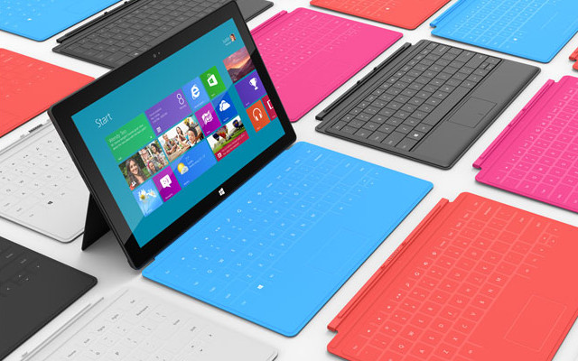 Microsoft Surface, Windows 8 Pro Tablet, Surface Tablet