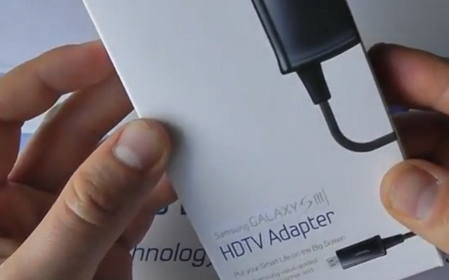 Samsung Galaxy S III HDTV Adapter, MHL Adapters, GalaxyS3 Accessories