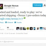 Nexus 7 Pre-Orders Now Shipping From Google