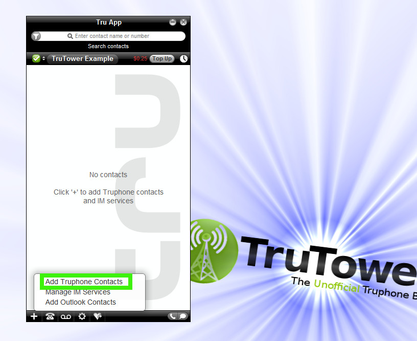Tru Voice Over IP Application, Truphone UK, Skype Alternative