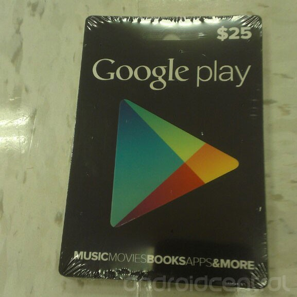 google play android store gift card attachment. Black Bedroom Furniture Sets. Home Design Ideas