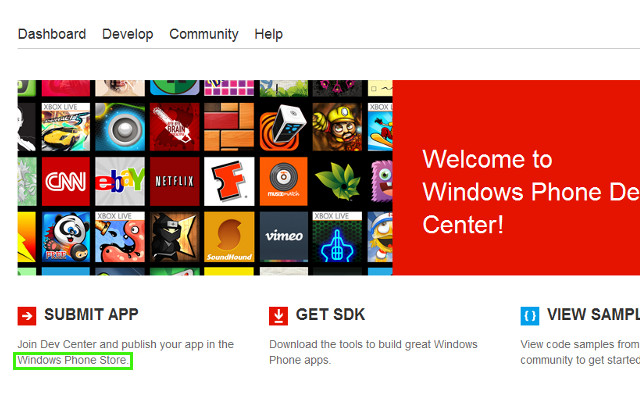 Windows Phone Store, WP Store, WindowsPhone App Store