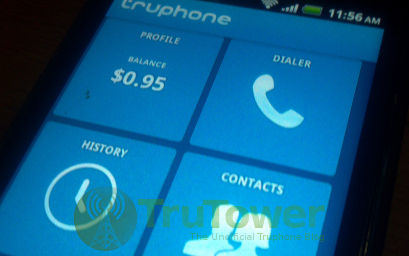 Truphone VoIP App, Voice Over IP Application, Android Free Calls