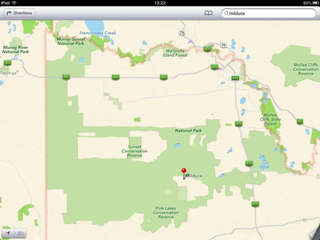 iOS 6 Maps, iOS6, Apple Maps