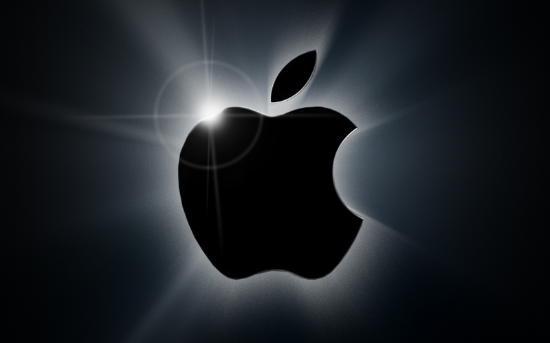 Apple logo, Apple company earnings, company profits