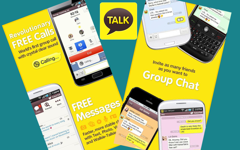 KakaoTalk App, VoIP App for Android iOS BlackBerry, KakaoTalk Application