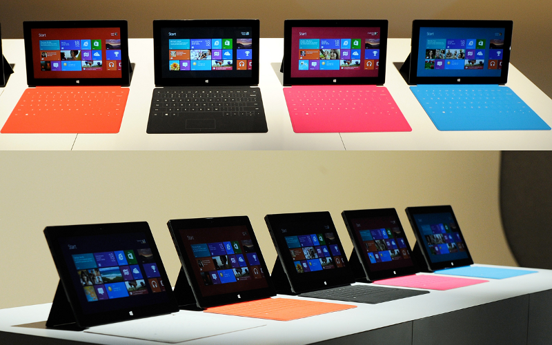 Microsoft Surface, Surface Tablet, Surface Sales