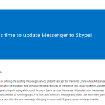Microsoft Emails Windows Live Users Encouraging Them to Upgrade to Skype