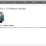 Apple iOS 6.1.2 Update Rolls Out With Microsoft Exchange Fixes