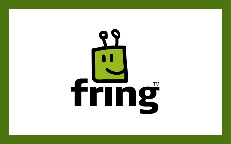 Fring Logo, Fring app, Fringout