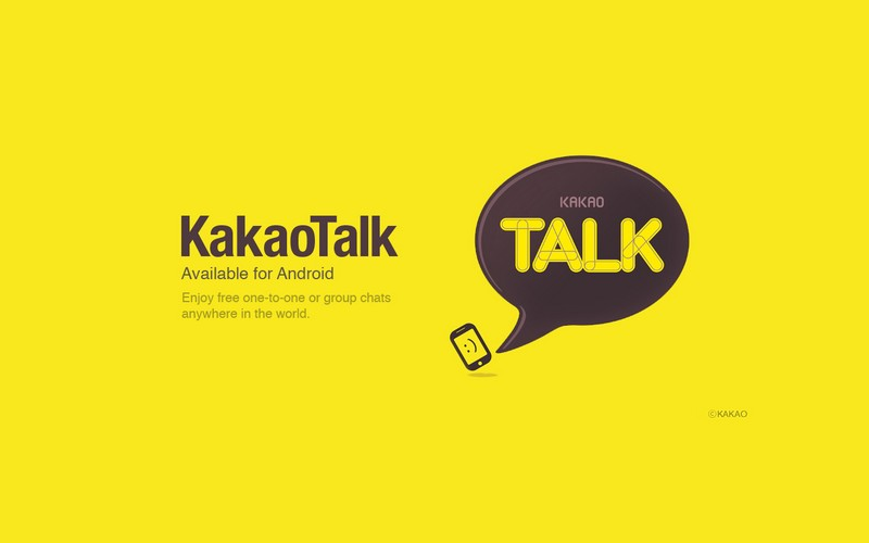 KakaoTalk for Android, VoIP apps for Android, Messaging application