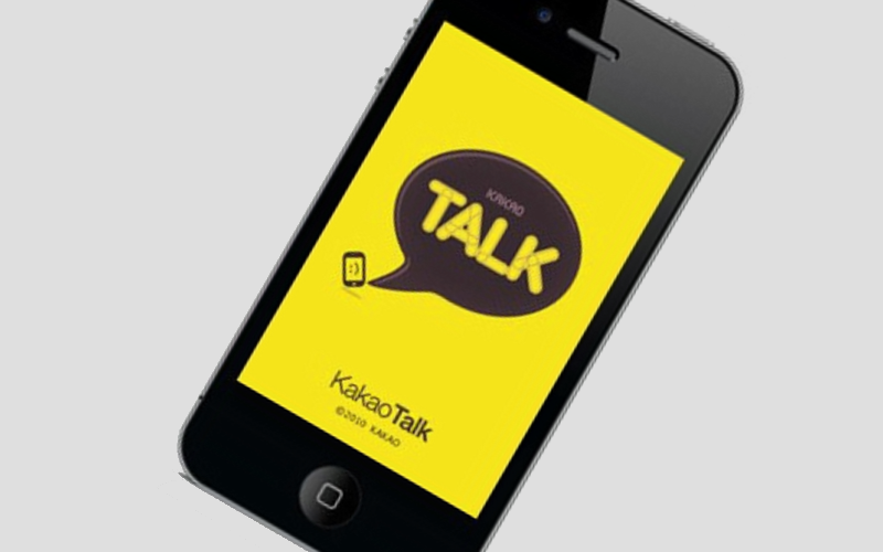 KakaoTalk iPhone, iOS Kakao App, VoIP and messaging application