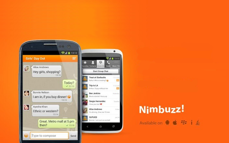 Nimbuzz Messenger, NimbuzzOut, VoIP Messaging Apps