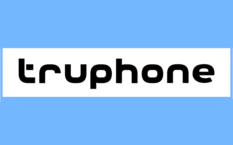 Truphone logo, International Global GSM SIM, Tru Voice Over IP App