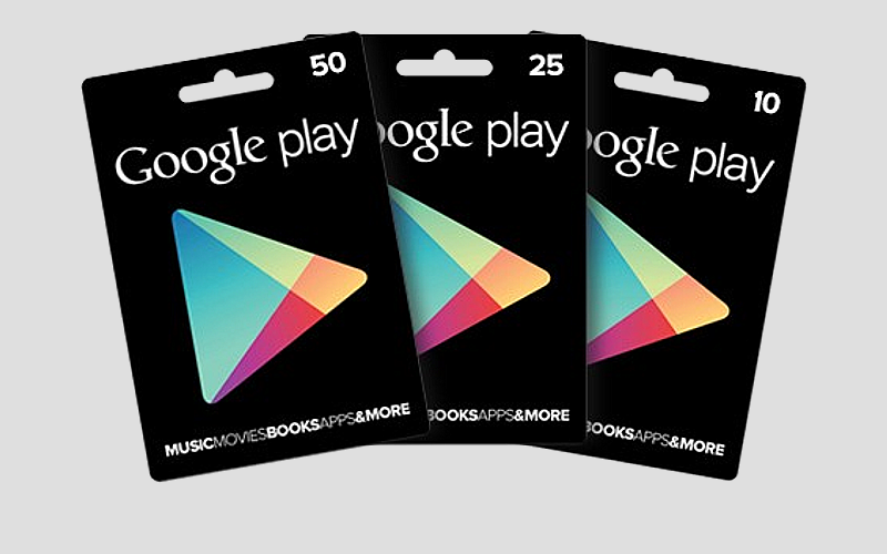 Google Play Gift Cards UK, Android store gift cards, Google gift card