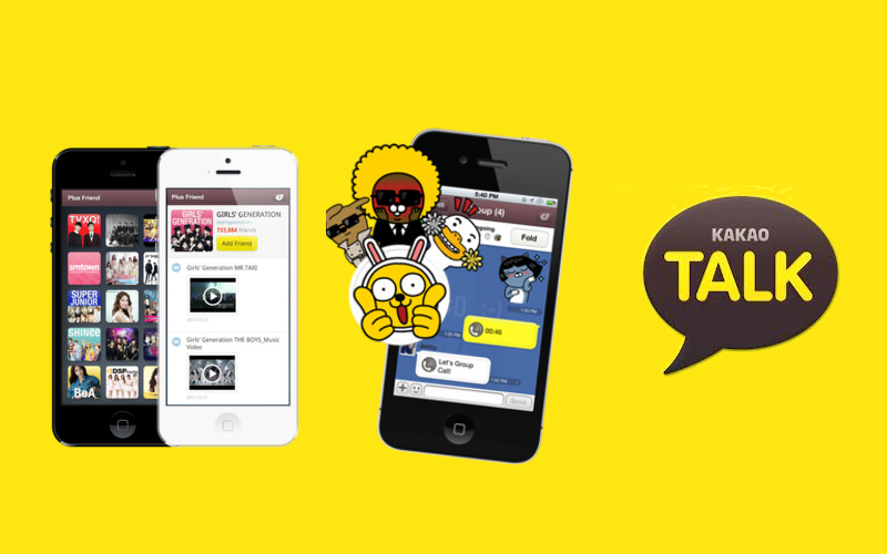 KakaoTalk for iPhone, iPod Touch calling apps, iPad messaging app