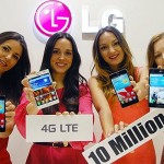 LG Sells 10 Million LTE-Powered Smartphones Worldwide