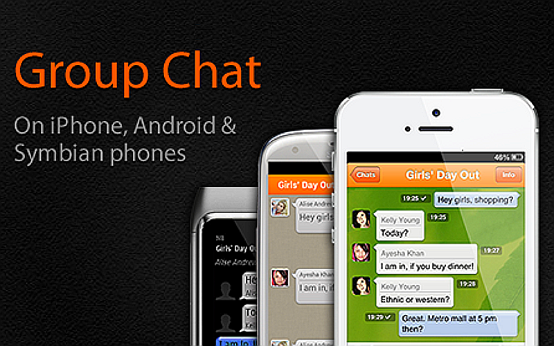 Nimbuzz Group Chat, VoIP and IM for Symbian, Android and iPhone apps