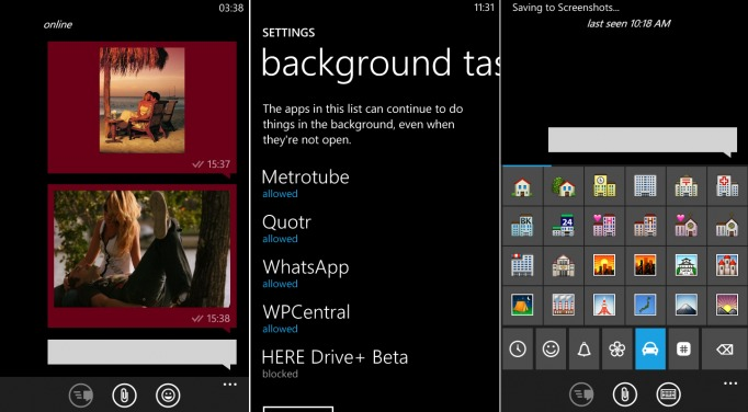 upcoming whatsapp update for windows phone includes new