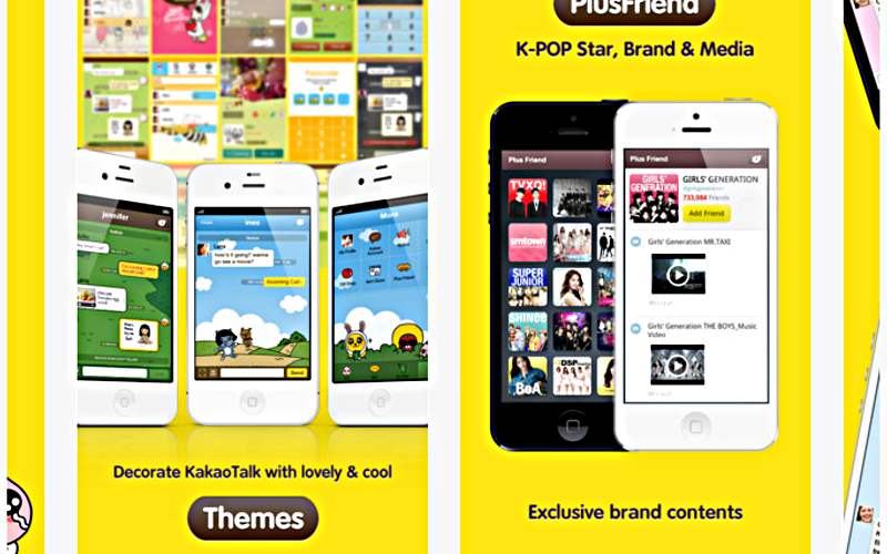 KakaoTalk for iPhone, KakaoTalk Messenger, KakaoTalk App