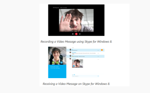 Skype Video Messaging, Skype Voicemail, Video Voicemail