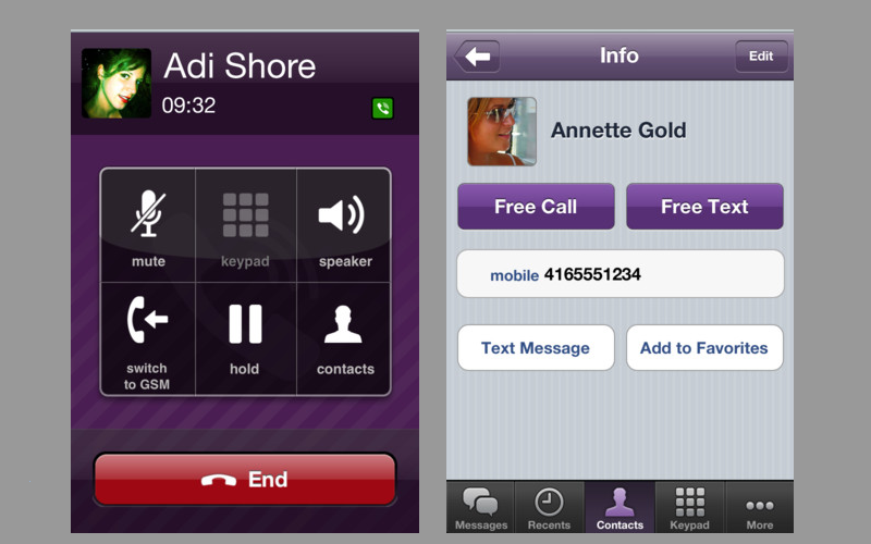 Viber for iPhone 3G, Viber for iOS 4.2, iOS VoIP apps