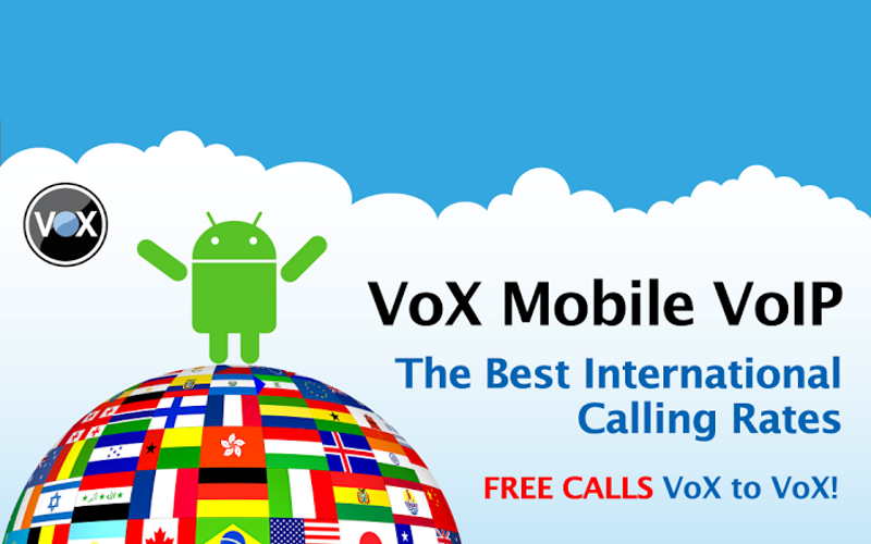 Vox Mobile VoIP, Vox Communications, Vox App for Android