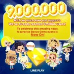 LINE Play Service Reaches Over 9 Million Users, Gems Event Now Running
