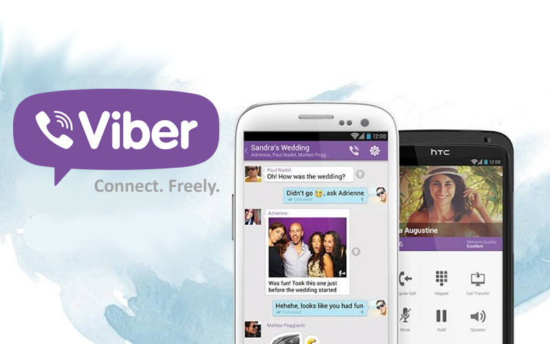 Viber on Android, Viber Calling, Viber Messaging Friends