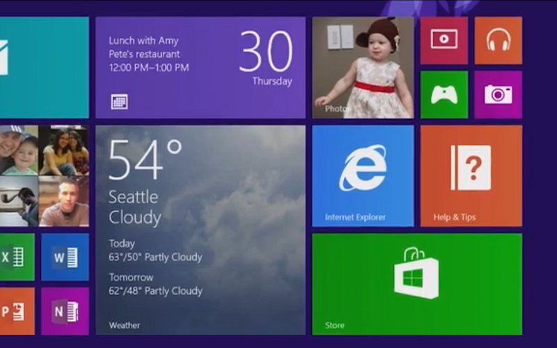 Windows 8.1, Windows Blue, Metro UI