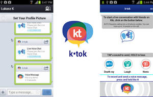 Kik Messenger Voice Messaging Add-On Holler!4Kik Is Now K*Tok, New Updates Galore
