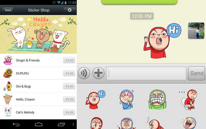 Stickers Emoji Art for WhatsApp, Messages, WeChat, Line, FaceBook,  KakaoTalk,