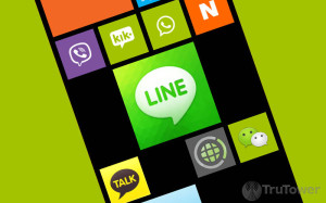 LINE for WP8, LINE on Windows Phone, LINE app