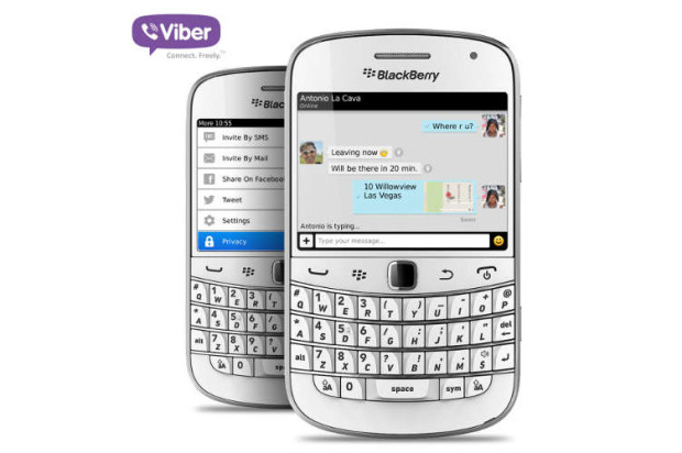 Viber Pushes Improvements Out To Legacy Blackberry Devices