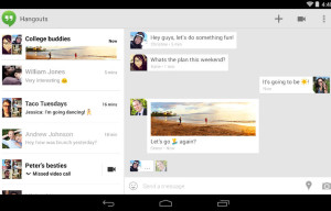 Incremental Update to Google Hangouts App Pushed Out to Android Smartphones and Tablets