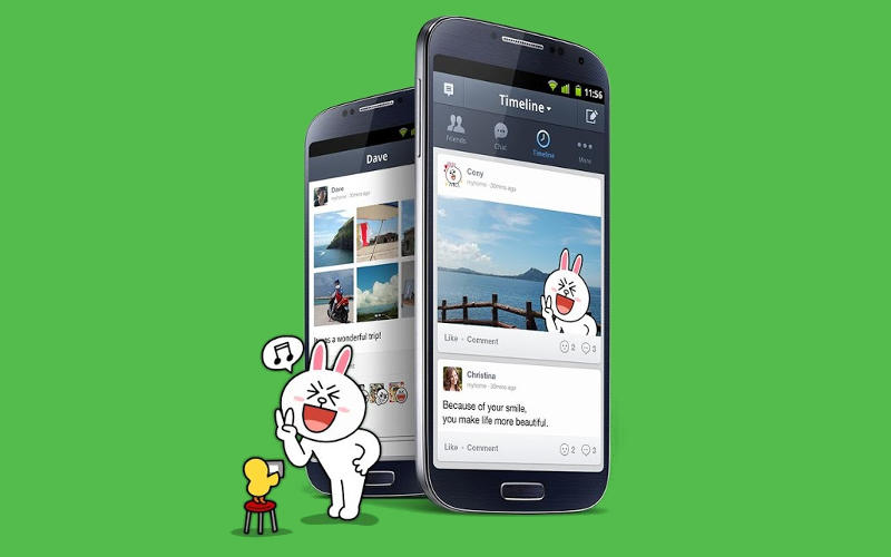 LINE App Hits 30 Million Registered Users in India, With Over 600 Million Around...