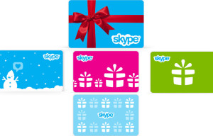 Skype Offering 30 Percent Off Gift Cards for Users to Promote Connectivity During the Holidays