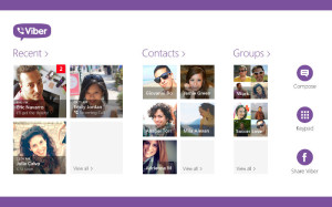 Viber Windows 8, Viber app, VoIP and messaging
