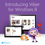 Viber Goes Full Throttle in the Speedway of Live Tiles With the Release of Windows 8 App