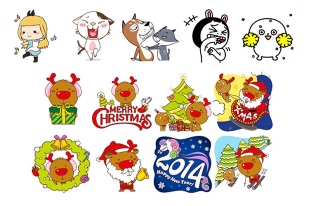 Make Your Chat-Filled Holidays Even Merrier With WeChat's Flying Emoticons, Voice Greetings, and Animated Stickers