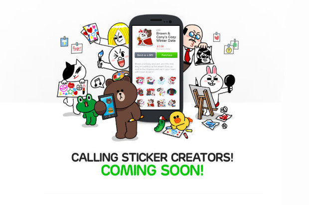 LINE Announces Creators Market: Create And Sell Your Own Stickers for Use in Messaging