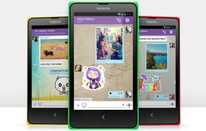 Viber Coming Pre-Installed on Nokia's New X and X+ Smartphones