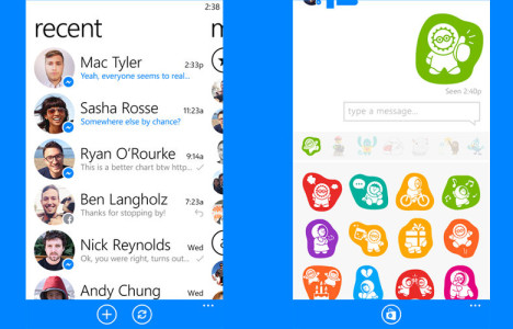 Official Facebook Messenger App Now Available for Windows Phone