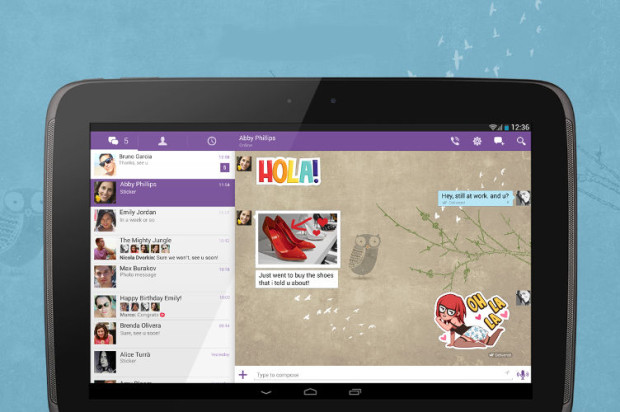 Viber for Android Receives Improved Sticker Menu, Other ...