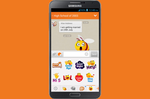Nimbuzz Launches Stickers on Android to Help Friends, Family, and Random Chatters Stick Together