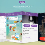 Viber 4.2 Gets an iOS7 Makeover, Comes to BlackBerry 10 For the First Time