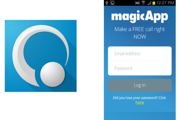 magic jack phone app
