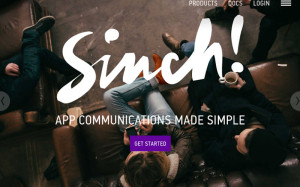 Sinch, developer apis, api for devs